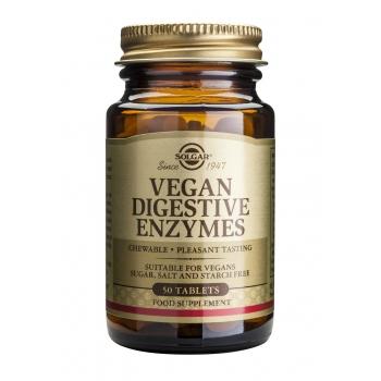 Vegan Digestive Enzymes 50 tablete