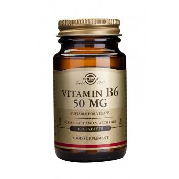 Vitamin B-6 50mg 100 tablete