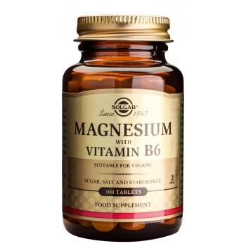 Magnesium + B6 100 tablete