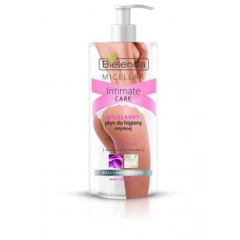 MICELAR INTIMATE CARE Gel Micelar pentru Igiena Intima cu Apa de Trandafir si Acid Lactic 300 ml