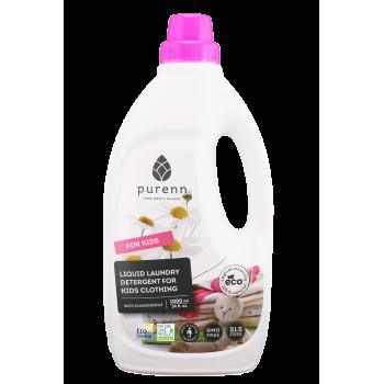 Detergent Lichid pentru Rufele Copiilor cu Musetel ECO/BIO 1L