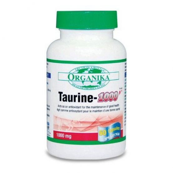 TAURINE 1000 mg/60 caps - Organika