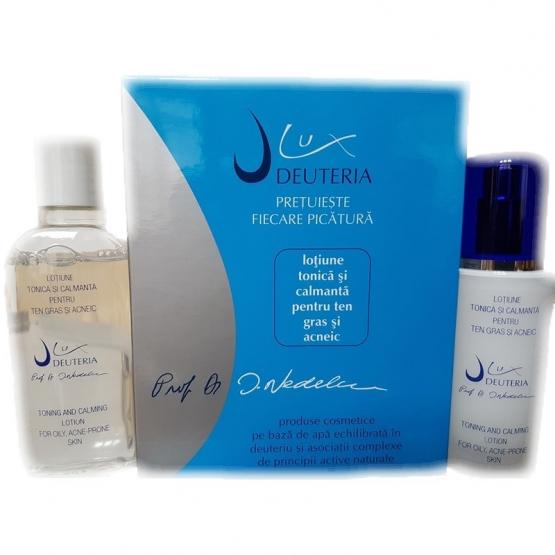 Lotiune tonica si calmanta pentru ten gras si acneic - 150 ml - Deuteria Cosmetics
