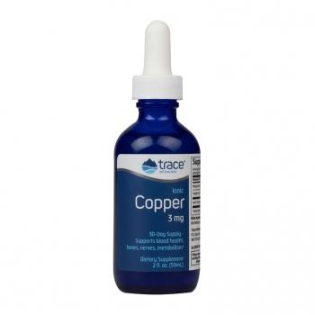 Cupru Ionic  3 mg Lichid TRACE MINERALS