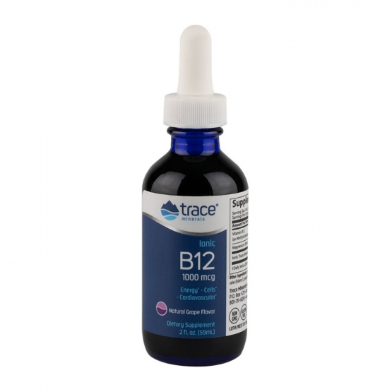 Ionic B12 1000 mcg Lichid TRACE MINERALS