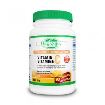 Vitamina C 500 Super-Tamponata cu Bioflavonoizi+ Rutin: 90 cps