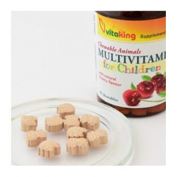 Multivitamina cu minerale pentru copii - 90 comprimate masticabile
