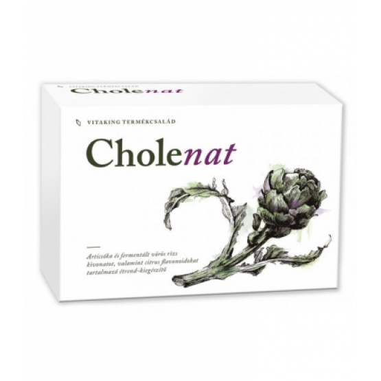 Cholenat anticolesterol complex forte - 60 comprimate