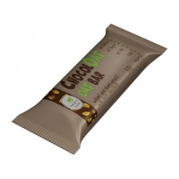 Baton ovaz cu ciocolata neagra, fara gluten si zahar cu gust de Jerbou - 50g