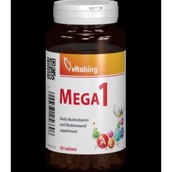 Multivitamina cu minerale si folat Mega 1 - 30 comprimate