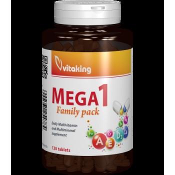 Multivitamina cu minerale Mega 1 cu folat natural - 120 comprimate