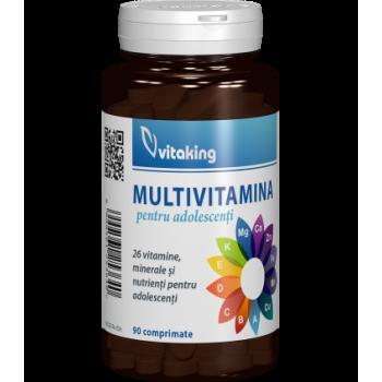 Multivitamina cu minerale pentru adolescenti - 90 comprimate