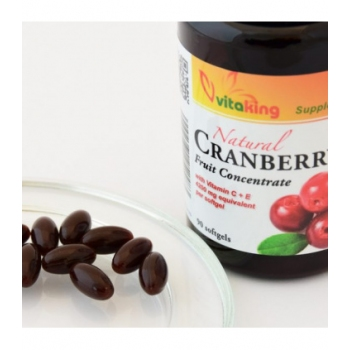 Extract de merisor (afin rosu) - 90 capsule gelatinoase