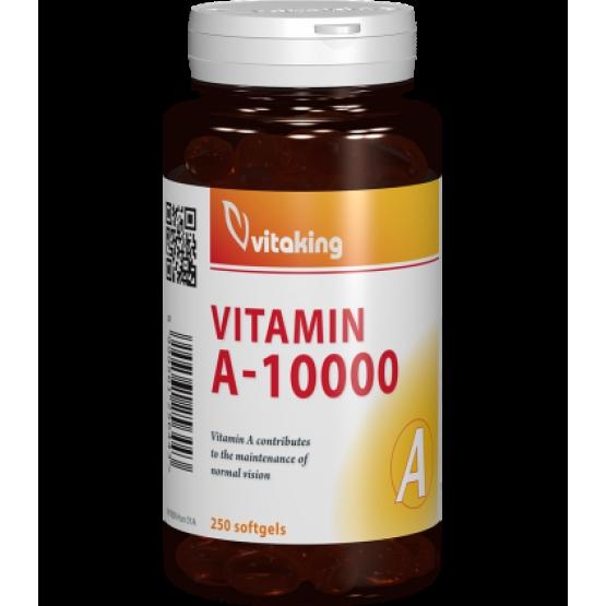 Vitamina A 10.000 UI - 250 capsule gelatinoase