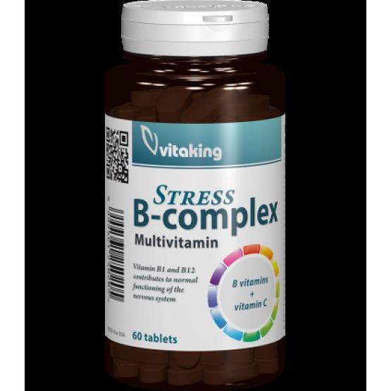 Stress B complex cu vitamina C - 60 comprimate