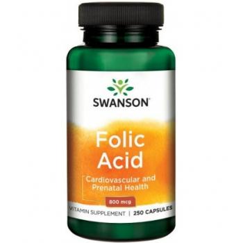 Acid folic 800mcg - 250 capsule