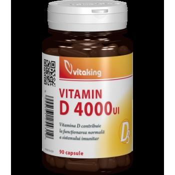 Vitamina D3 Forte - 4000UI - 90 capsule