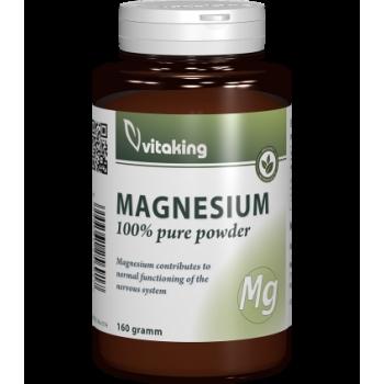 Pulbere de magneziu citrat - 160 grame