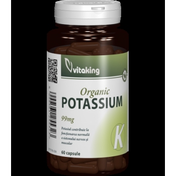 Potasiu 99mg - 60 capsule