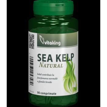 Alga marina (Sea Kelp) 30mg - 90 comprimate