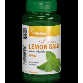 Roinita (Lemon Balm) 500mg - 60 capsule