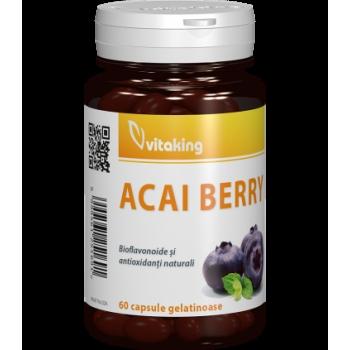 Acai berry - 60 capsule gelatinoase