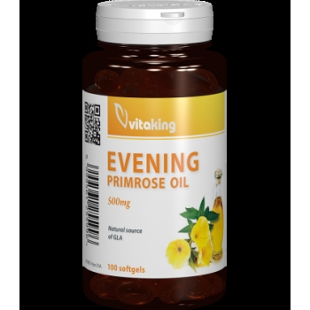 Evening Primrose oil (ulei de primula) 500 mg - 100 capsule gelatinoase