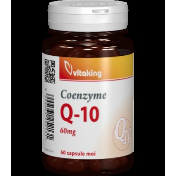 Coenzima Q10 naturala 60mg - 60 capsule