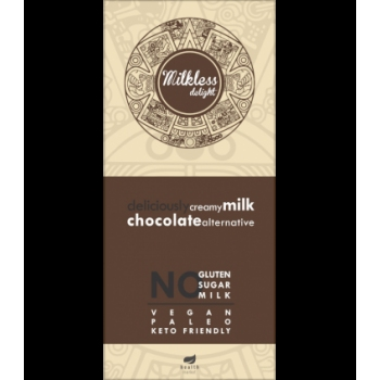 Ciocolata cremoasa cu lapte de cocos fara gluten, lapte si zahar - 80g