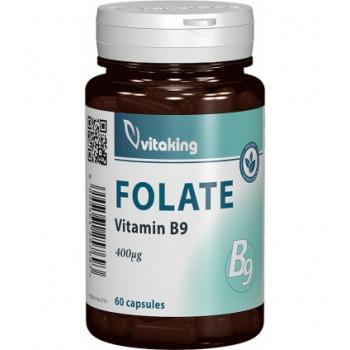 Folat organic 400mcg - 60 capsule