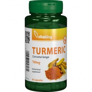Turmeric (Curcuma) 700mg - 60 capsule vegetale