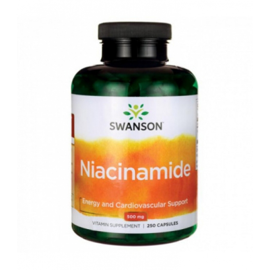 Vitamina B3 (niacinamida) 500mg - 250 capsule