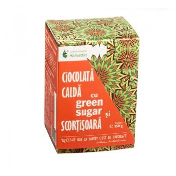 Ciocolata calda cu Green Sugar si scortisoara (10 plicuri)