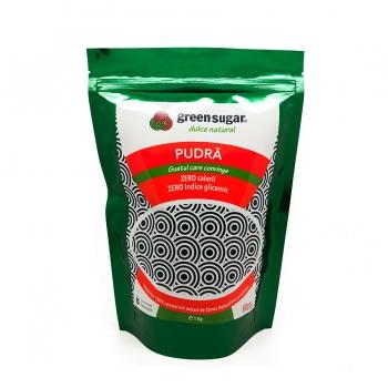 Green Sugar Pudra 1kg + 1 buc GREEN SUGAR COLAGEN + BLACK TEA