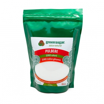 Green Sugar Pulbere 500gr + 1 buc GREEN SUGAR COLAGEN + BLACK TEA