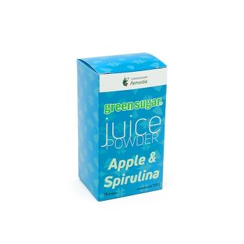 Juice Powder cu Green Sugar si aroma de mar si spirulina (10 stickuri)