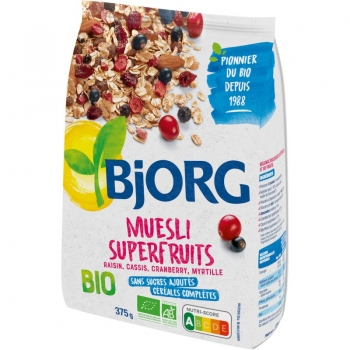 Bjorg Eco Musli Superfructe 375g