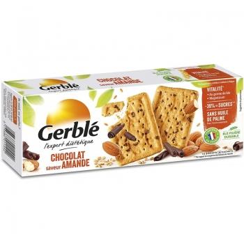 Gerble Expert Dietetic Biscuiti Ciocolata Migdale 200g