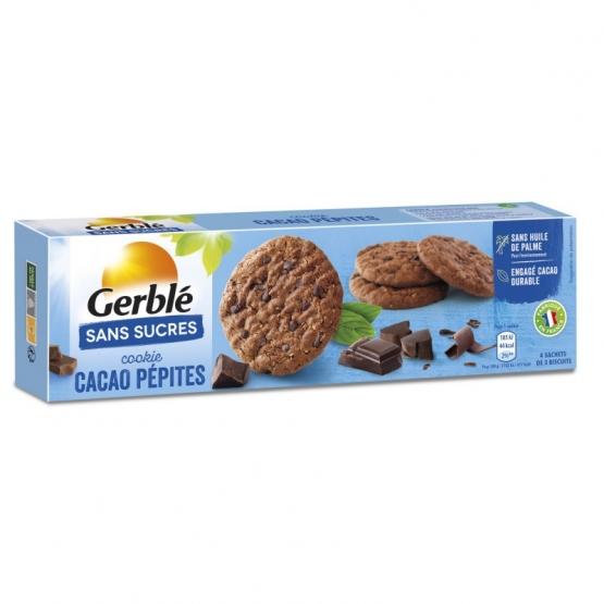 Gerble Glucoregul Cookie Cioco-cacao Fara Zahar 130g