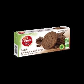 Cereal Bio Biscuiti Ciocolata Neagra, 132 G