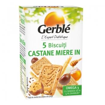 Gerble Mini Pack Bisc.omega 3 Castane-in 50g