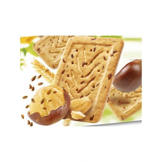 Gerble Expert Dietetic Biscuiti Omega 3 Castane-in, 200 G