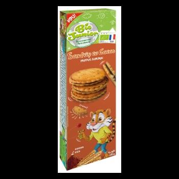 Bio Junior Eco Sandvis Cu Crema De Cacao 185g