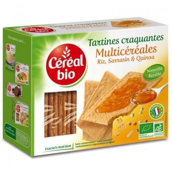 Cereal Bio Tartine Crocante Multicereale 145g