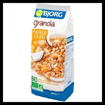 Bjorg Eco Granola Mango-caju 350g