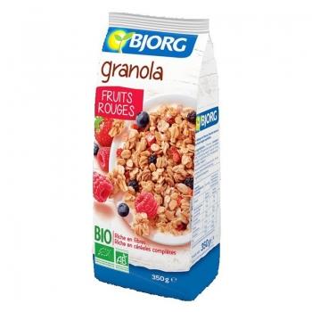 Bjorg Eco Granola Fructe Rosii 350g
