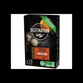 Eco Destination Capsule Cafea Pur Arabica -peru 55g
