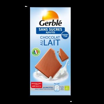 Gerble Glucoregul Ciocolata Hipoglucidica Cu Lapte 80g