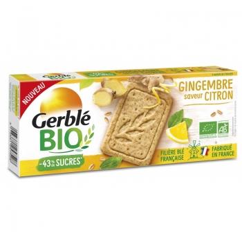 Gerble Bio Biscuiti Ghimbir-lamaie 132g