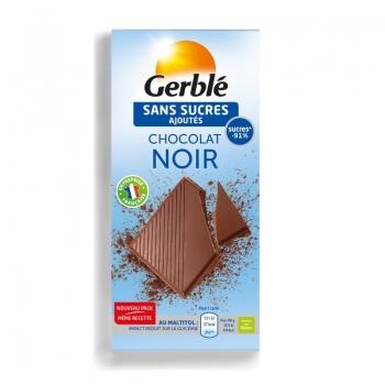 Gerble Glucoregul Ciocolata Neagra 80g